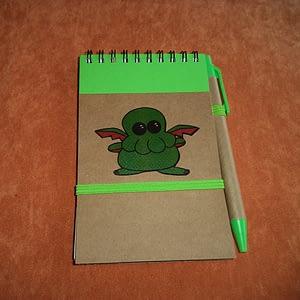 Cuadernito con bolígrafo Cthulhu
