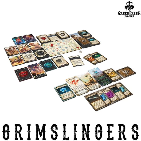 Grimslingers cartas-cards