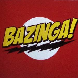 Pegatina de vinilo Bazinga