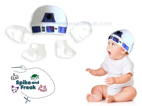 Pack Cesta Bebé R2D2