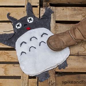 Totoro Aplastado