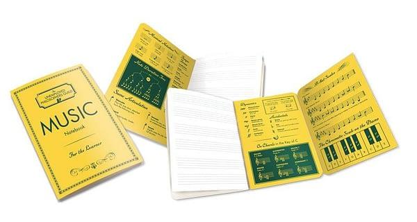 Cuaderno de Música-Music Notebook