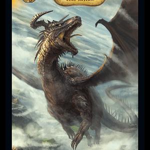 Detalle carta Dragons Hoard