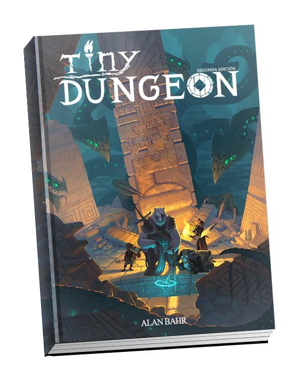 Portada de Tiny Dungeon