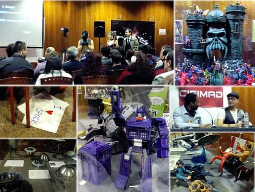 Alguna de las exposiciones y actividades de la CifiMad 2015