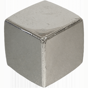 cubo plateado