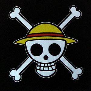 Pegatina de vinilo One Piece
