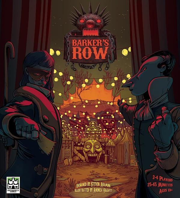 Barker´s Row portada