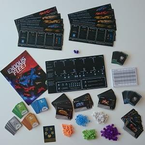 Exodus Fleet cartas-cards