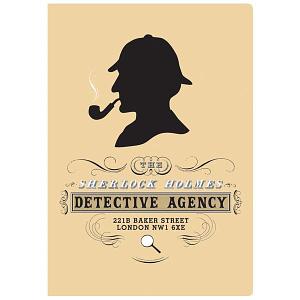 Cuaderno Sherlock Holmes Notebook