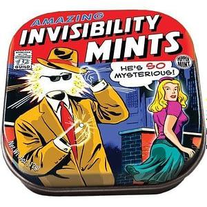 Caja con pastillas de menta Invisibility Mints