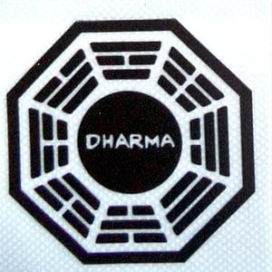 Pegatinas de vinilo transparente Dharma