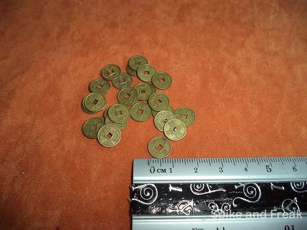 Set de Monedas Chinas Pequeñas